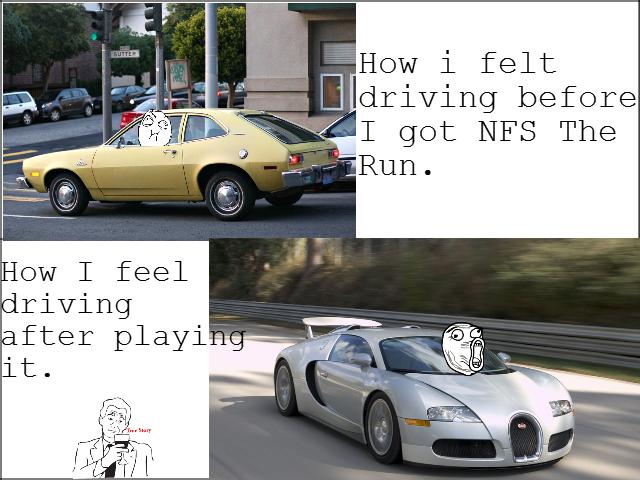 Need for Speed: The Run. 107% OC. How felt