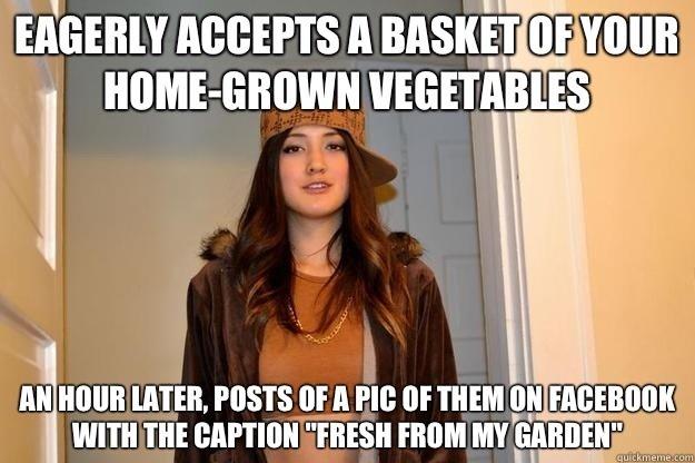 "Neighbours. . iife WEE. MFW I ""accidentely"" put ""sleeping pills"" in said vegetables"