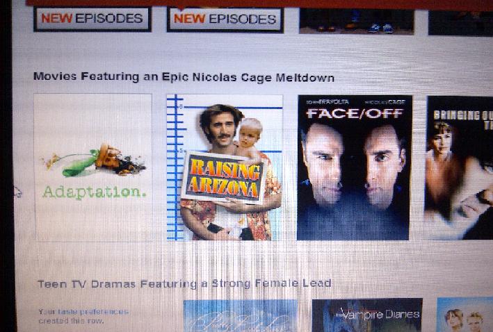 Netflix suggestion. .