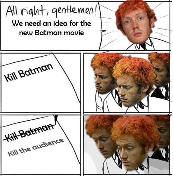 new idea for movie. . All tull/ tlkn I i. We need an idea for the new Batman meme