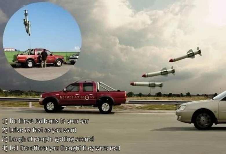 Nice prank. . Ha 'Lhasa Drum as fast as you is-'