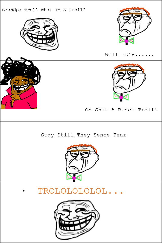 Nigga Troll. WOOP WOOP.. Bad misuse of melvin