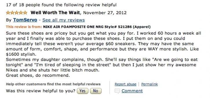 "Nike. . 17 er 10 people mung the l' risewing review helpful will Vertel The Watt, Hereunder an sen By - See all my reviews This is Hem: NIKE AIR "" NEE 'iiu"" Sur"