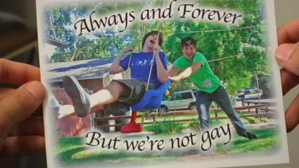 No Homo. .
