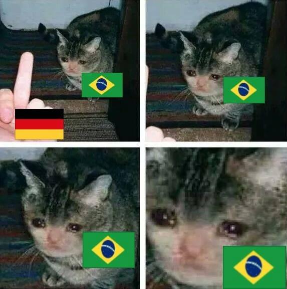 No more :(. Brasil decime que se siente..... Brazil now