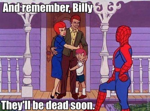 No Spidey.. .