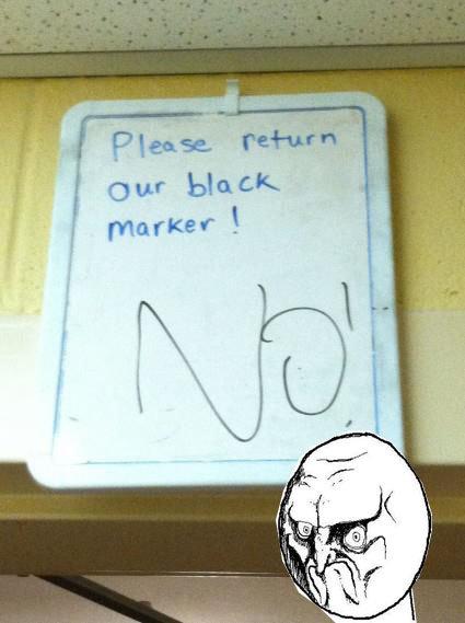 NO!. .