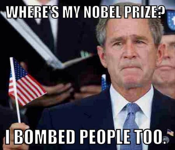 Nobel Prizes for everyone!. .