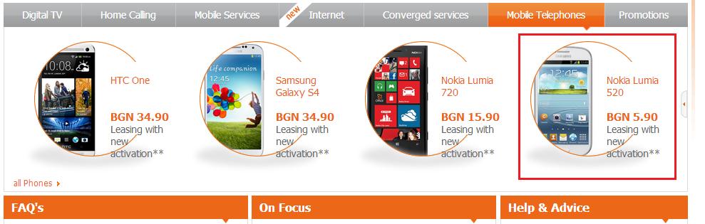 "Nokia Lumia 520. Samsung edition.. services Mable Telephones Nokia Lumia '-3 , ' _ Nokia Lumia HTC One Same: Galaxy Leasing with "" - Leasing with BEN Leasing wi hue"
