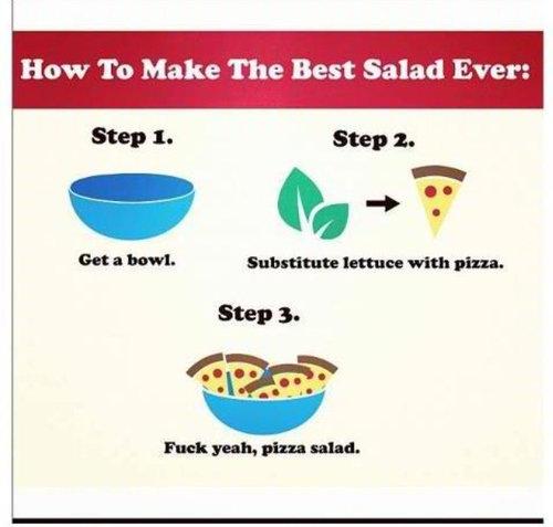 Nom. . Haw In Make The Best Salad Ever: