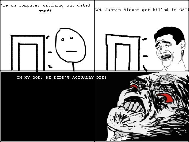 NOOO!. Justin Bieber fans beware!.