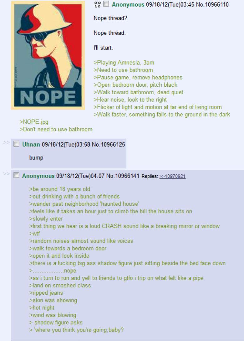 "NOPE. . El Anonymous 09/ "" ) 03: tti New thread? Nope thread- N start. Amnesia. aam Heed use bathroom Abouse game remade headphones Eileen deer. pitch black iwa"