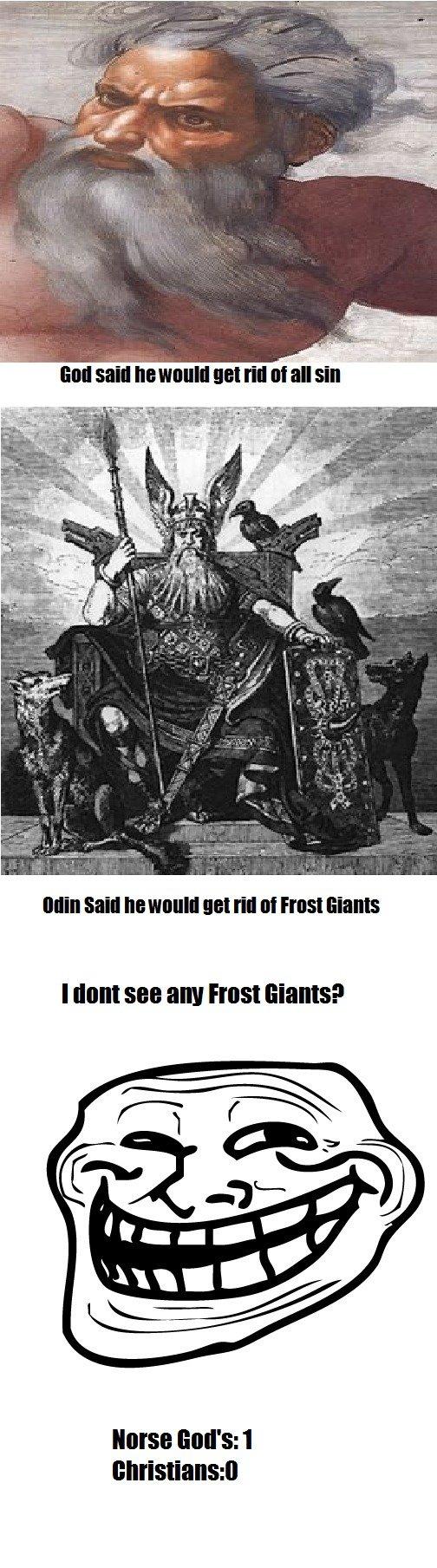 Norse God's. 100% Oc. J. rfi. libi. 100% repost