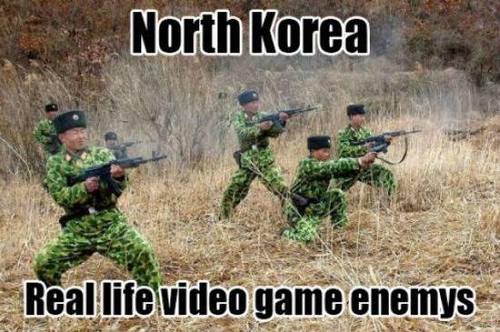 North Korea. .