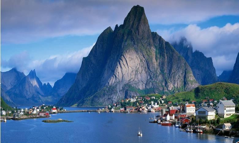 Norway is the best way. Gudvangen Enlarge for beauty.. AND we got oil
