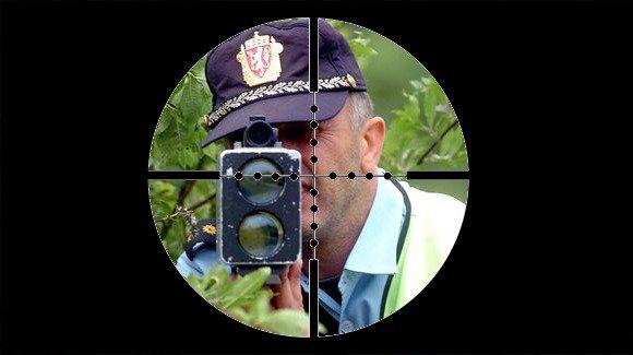 Norwegian Cops. .. Dra tell helvete, du e ein forbanna idiot! ta mopedn din å putt den i anusn din! Cops sniper scope sniperscope norway