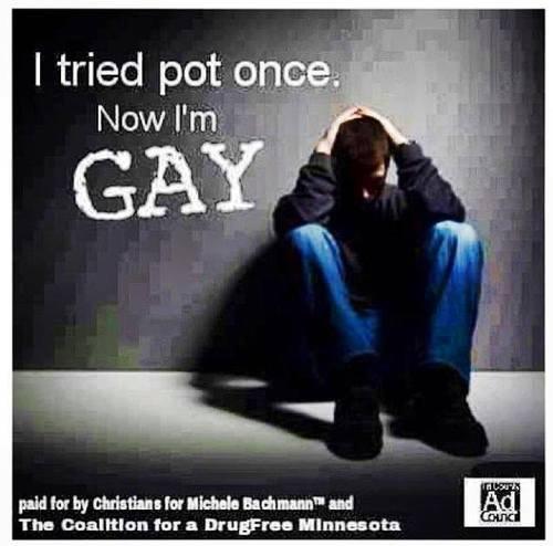 Not even once.... desc. I tried pot o. ' miimii-. Gay