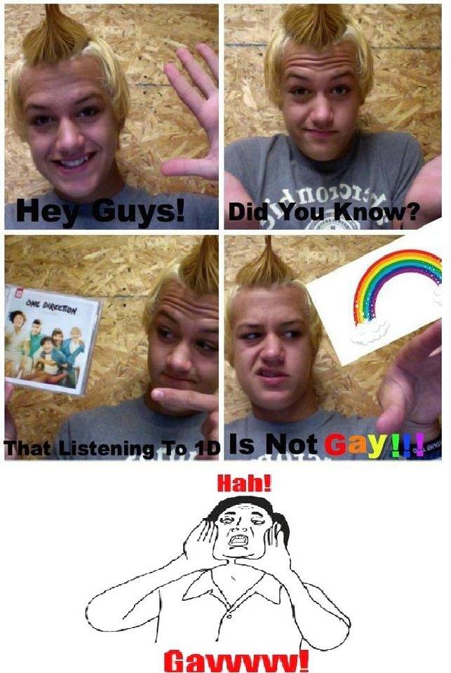 NOT GAY. .