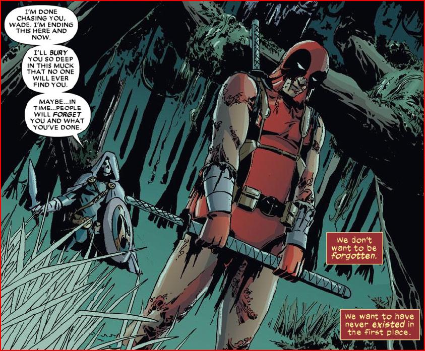 not the typical deadpool post. but i kinda felt at what he said comics are Deadpool kills the Marvel Universe.