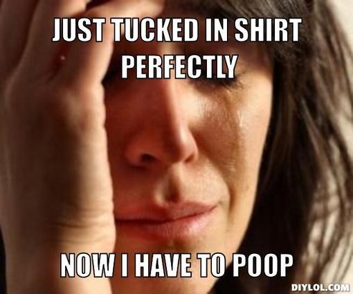 Now I haveto Poop. . JUST IN sum , I( I Milli In Poor 3
