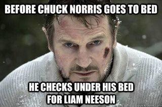 Nuff Said. . mun: ennui ms Till Bil] Liam Neeson Is B