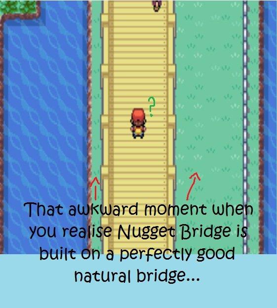 Nugget Bridge. OC. natural bridge.... Fixed LOL