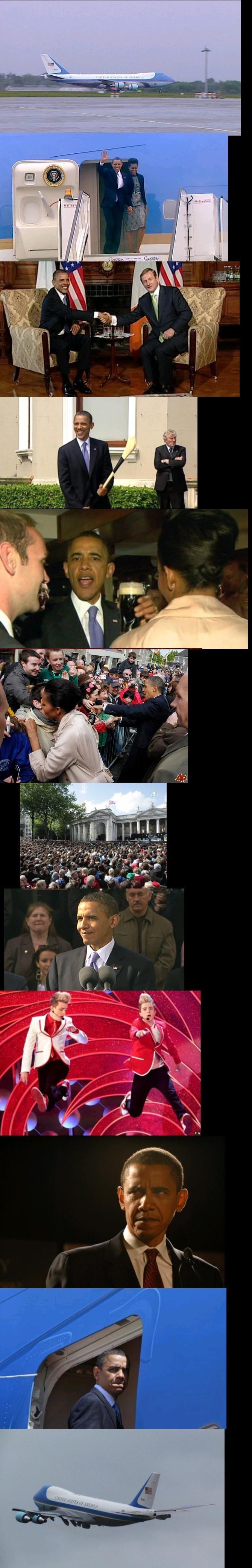 Obama Goes to Ireland -Reup. .