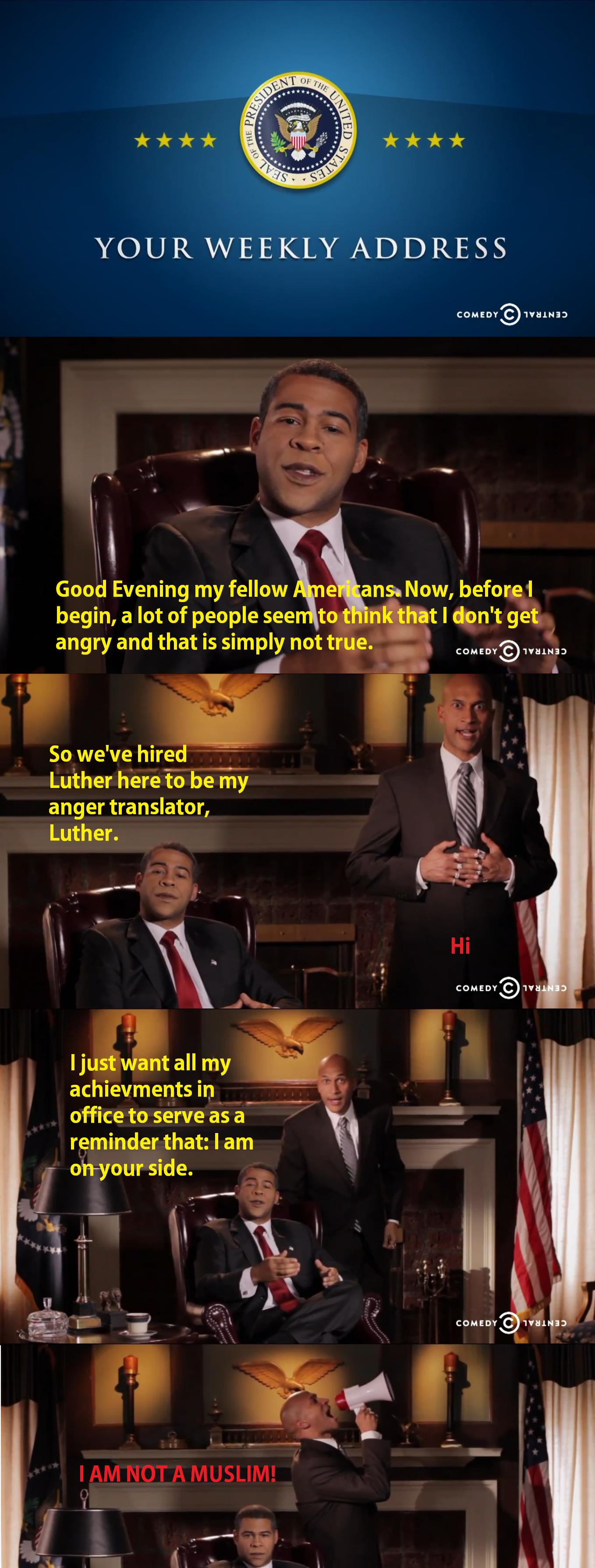 Obama loses his st. Key & Peele.