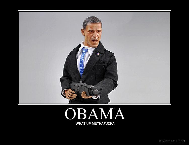 Obama Obama Badass