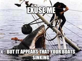 Observational jaws. .. Nom nom nom Shark shark week Jaws