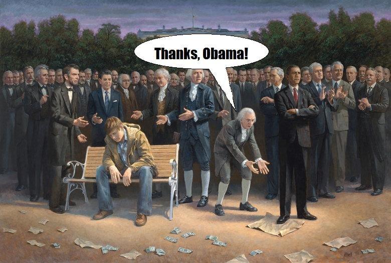 OC. not lying, made it obama self.. Woah, dude. nice OC. What kid of paint did u use (acrylic? oil?) ok kind of lying