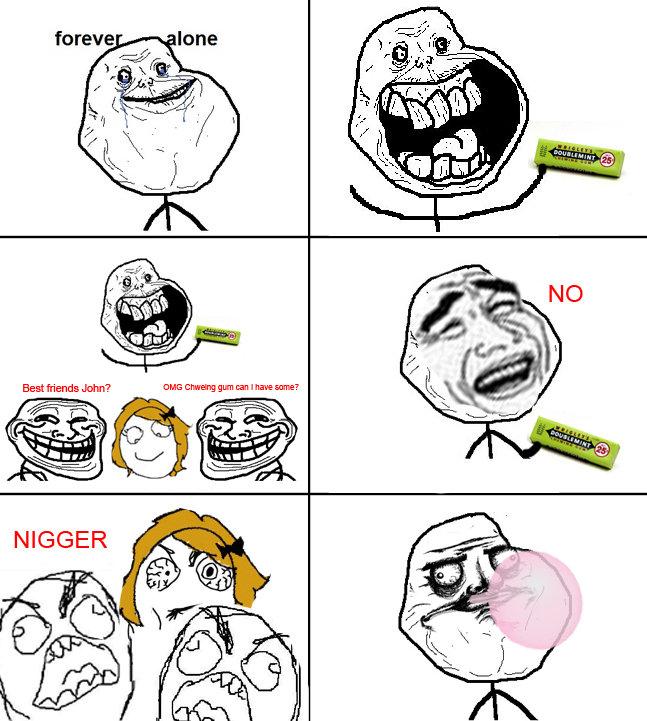 OC about chewing gum. I am a robot Bleep bleep. Beat friends GHQ Clarita' gun ? if R