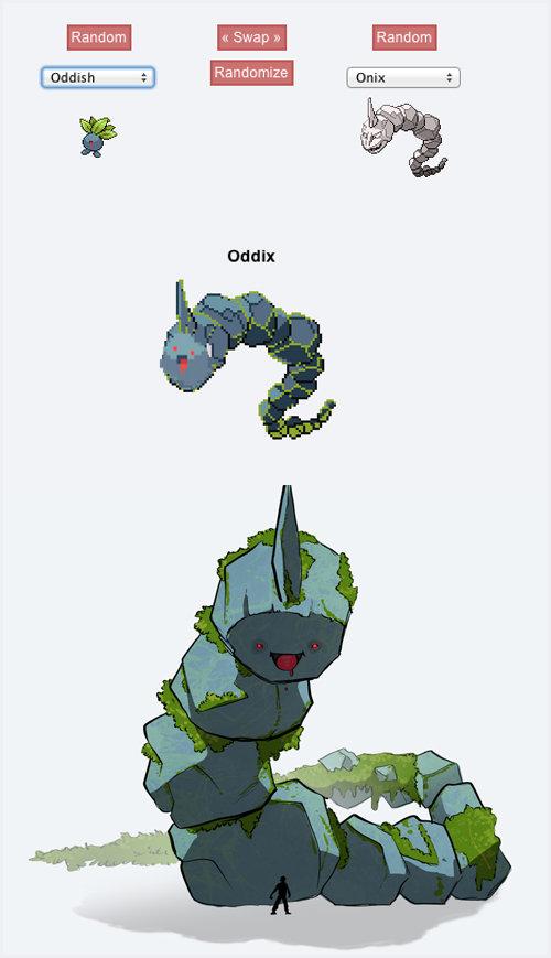 Oddix. Terrifyingly adorable... That's... actually really cool.