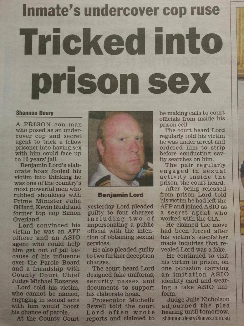 Oh, Australian news.... .