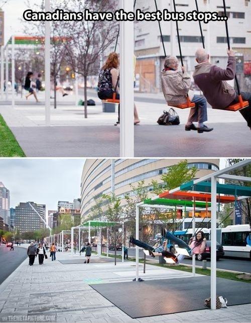 Oh Canada. .. >Canada >Bus Stops