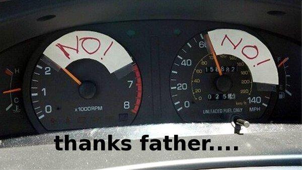 oh dad..... oh dad. oh dad