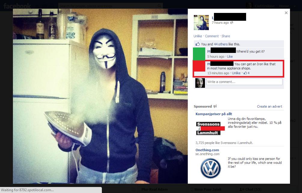 Oh facebook..... . facebook laughs all around hello jennifer