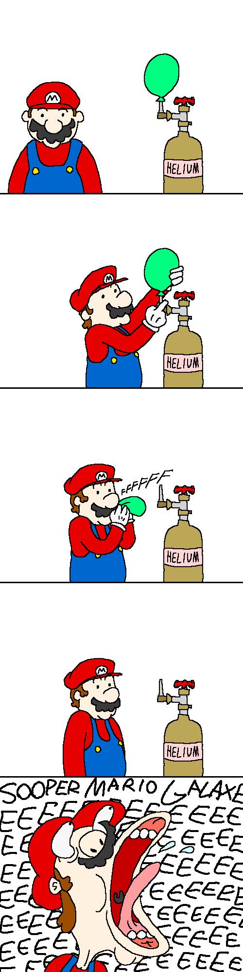 OH GOD NO. Mario, y u do this?. Mario funny GALAXEEEEEE