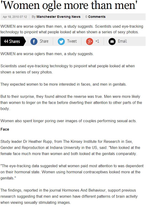"""Oh my. www.manchestereveningnews.co.uk/news/greater-manchester-news/women-ogle-more-than-men-988791. Women Ogle more than men' fila"""" 10 By Manchester Evening Ne"""