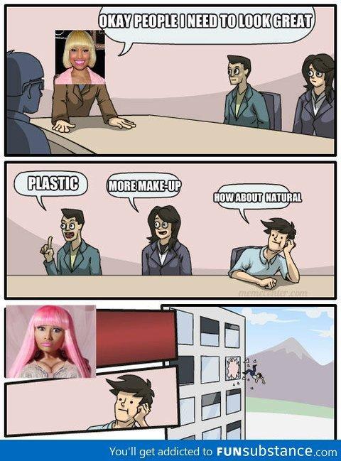 Oh, Nicki Minaj. .. Actually not that bad...