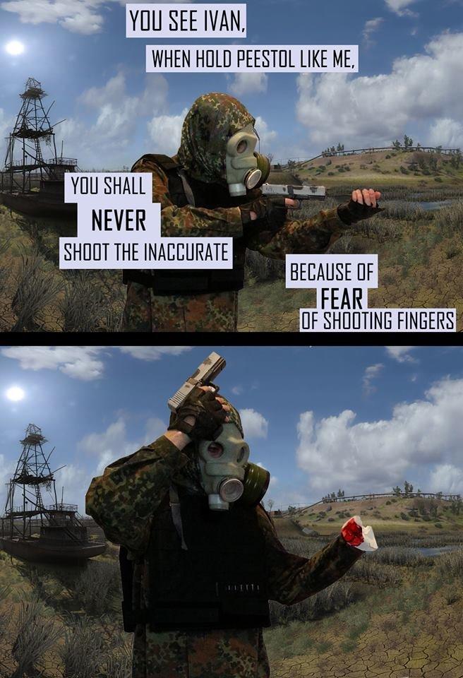Oh no Ivan. .. Original funny ivan pistol