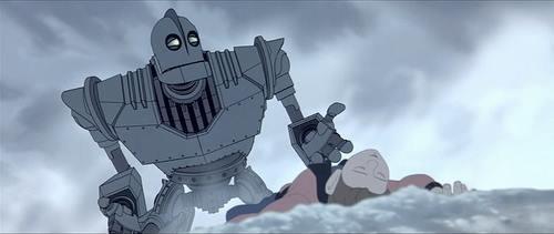 Oh no. . sad Iron Giant feels