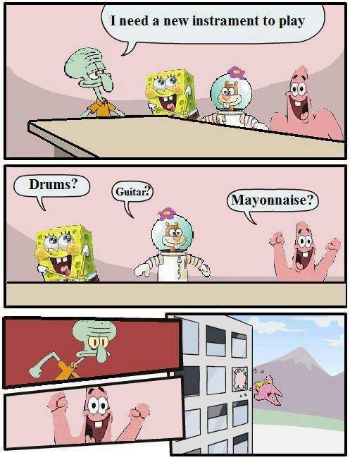 Oh Patrick. .