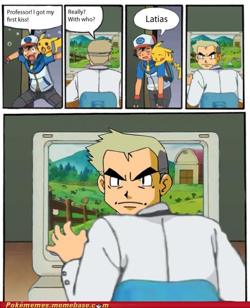Oh Proffessor Oak!. U silly bastard.