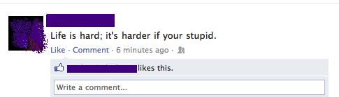 Oh the irony...[FB]. .