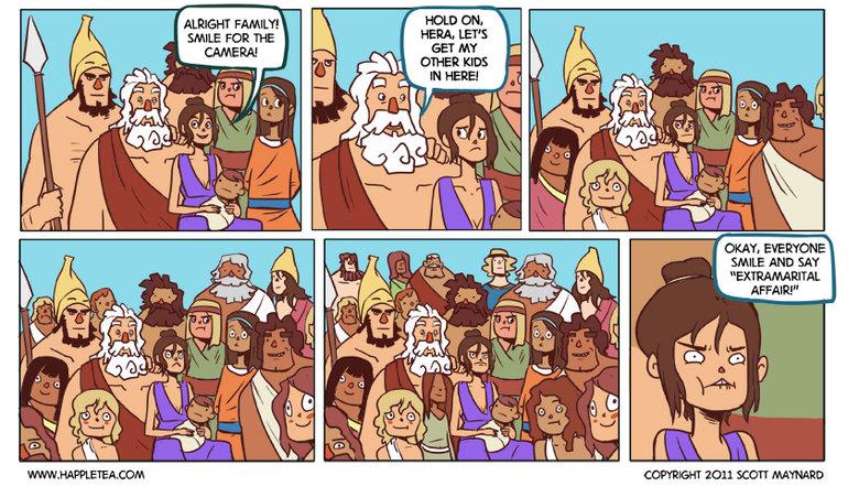 oh zeus. credit to scott maynard.. Zeus was such a slut.