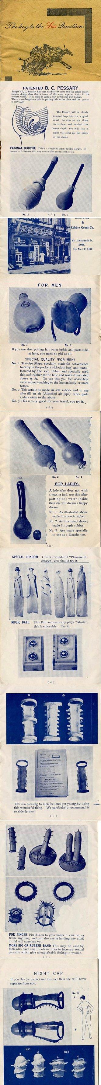 "Old Sex Toys. . PATENTED B. C. PESSARY mormor bluesiest ' ""u, II "" LEI: arr Eh: ! Ina}. Irh Alie II'! ""arro witrh. ll "" mam in much u """" ma will nail arty : AIL"