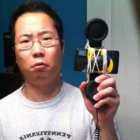 Oldschool selfie. .