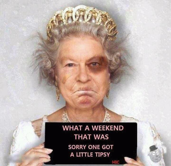 One's weekend.... Yep..