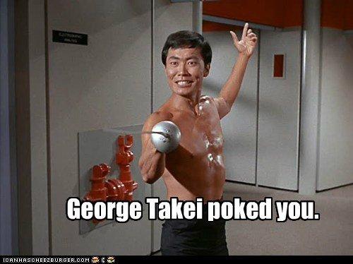 Ooooh Myyy. Helloooooo. George Tami naked you TAKEI poke